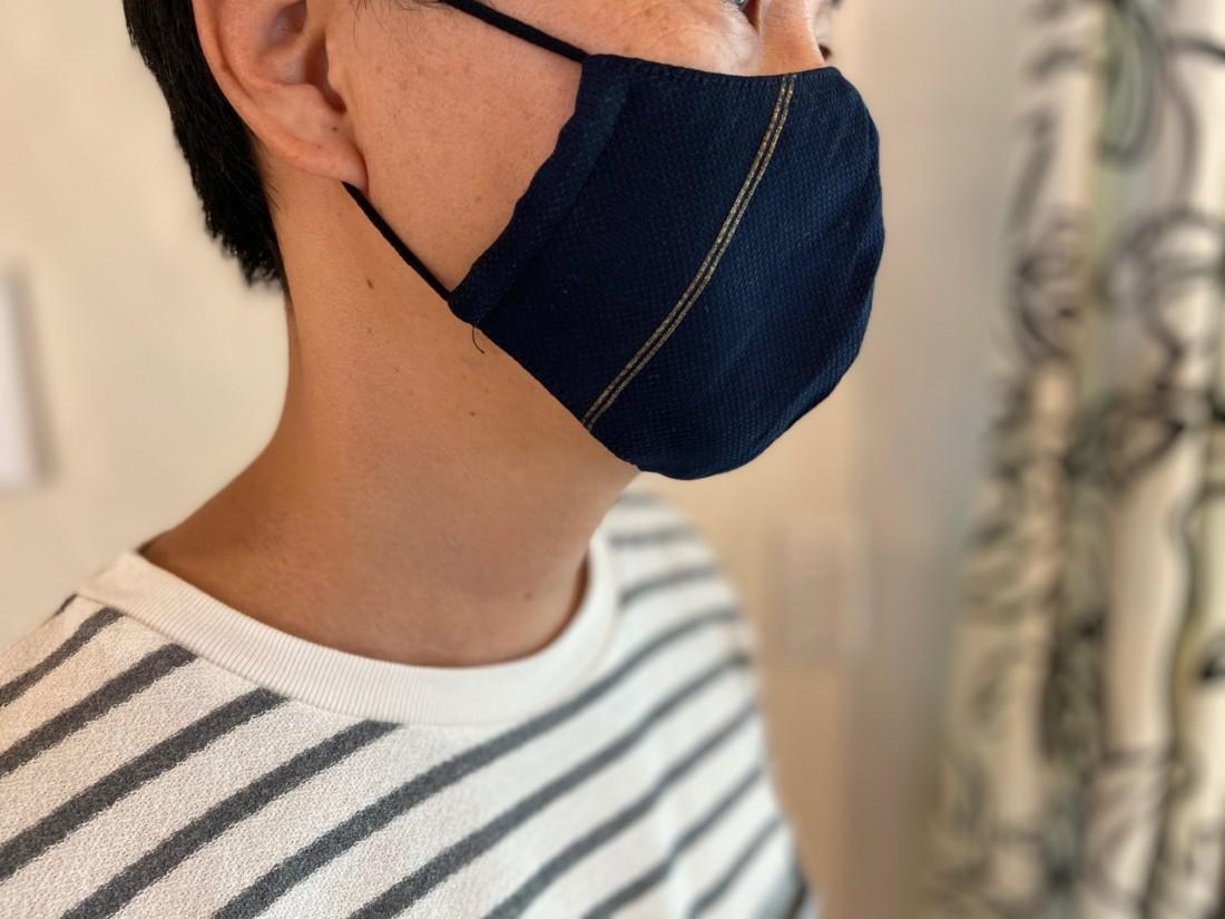 マスク装着縮小