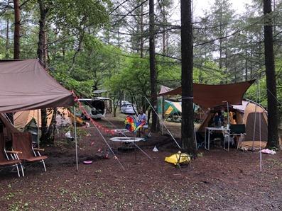2018年夏キャンプ