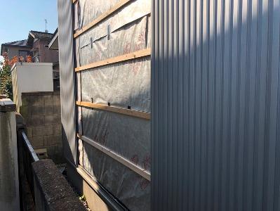 自宅リフォーム外壁
