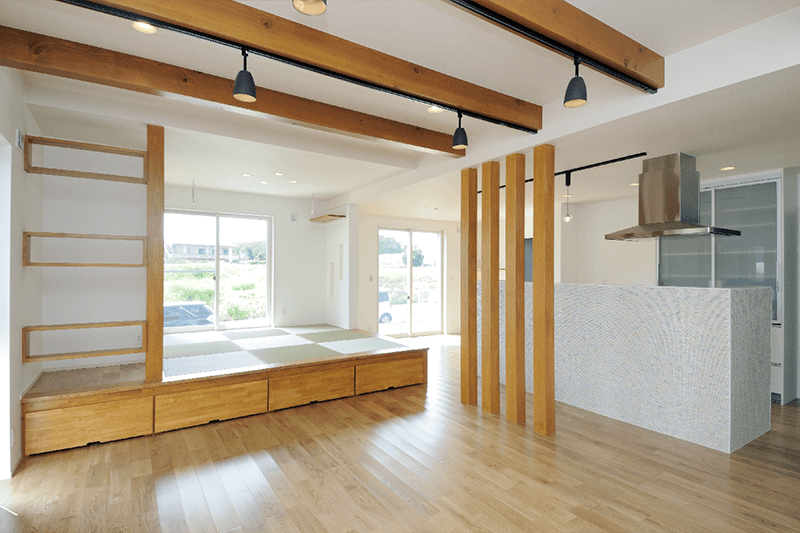 自然素材と暮らす家